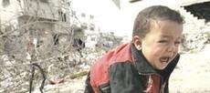 Un bambino a Gaza