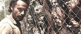 Una scena di The Walking Dead