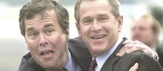 Jeb Bush col fratello George Walker