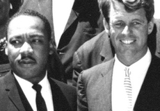 Martin Luther King e Bob Kennedy