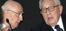 Napolitano e Kissinger