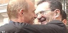 Prodi con Putin