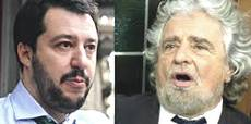Salvini e Grillo