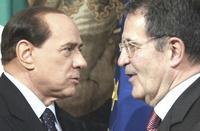 Berlusconi e Prodi