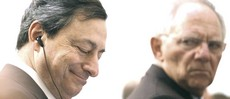 Draghi e Schauble