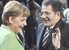 Merkel e Prodi