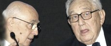 Napolitano e Kissinger