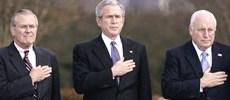 Rumsfeld, Bush e Cheney