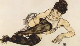 Un'opera di Egon Schiele