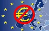 No-Euro, crescono gli euroscettici