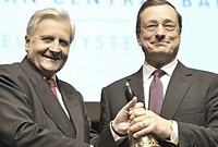 Trichet e Draghi