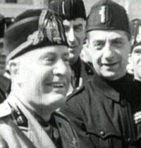 Bottai con Mussolini