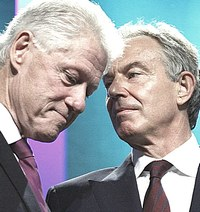 Clinton e Blair