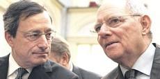 Draghi e Schaeuble