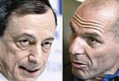 Draghi e Varoufakis