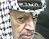 Yasser Arafat, storico leader palestinese