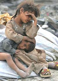 Bambini, prime vittime della guerra