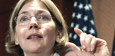 Elizabeth Warren, candidata di sinistra alle primarie per la Casa Bianca