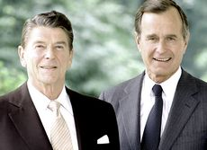 Reagan e Bush