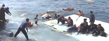 Salvataggio di migranti alla deriva