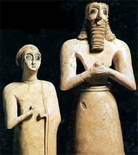 Statue assire