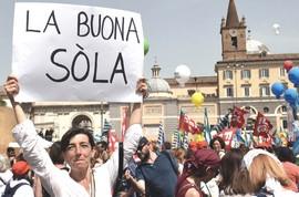 Insegnanti contro Renzi