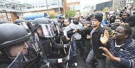 Proteste a Baltimora