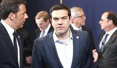 Alexis Tsipras con Renzi