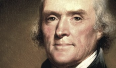 Il presidente americano Thomas Jefferson