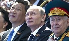 Xi Jinping con Putin