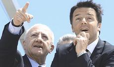 De Luca con Renzi