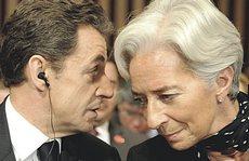 Nicolas Sarkozy e Christine Lagarde