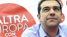 Tsipras alle europee in Italia