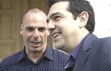 Tsipras e Varoufakis