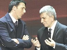 vendola con Renzi