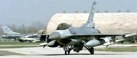 F-16 nella base di Aviano
