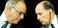 Kohl e Mitterrand