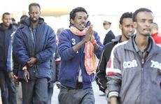 Migranti africani sbarcati in Italia