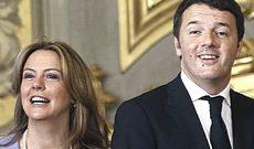 Beatrice Lorenzin e Matteo Renzi
