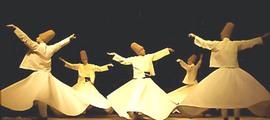 Dervisci Rotanti, mistici islamici Sufi