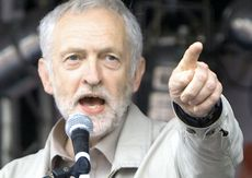 Jeremy Corbyn, leader laburista inglese