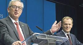 Juncker e Tusk