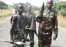 Giovanissimi guerriglieri Seleka
