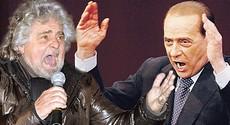 Grillo e Berlusconi