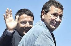 Marino con Renzi