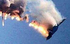 Il Sukhoi Su-24 abbattuto tra Siria e Turchia