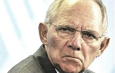Il ministro tedesco Schaeuble