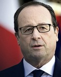 Il presidente Hollande