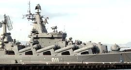 L'incrociatore lanciamissili Moskva