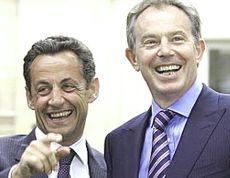 Sarkozy e Blair